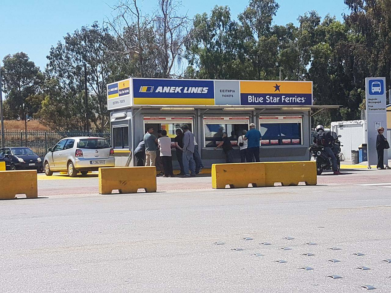 ANEK Lines - Blue Star Ferries - Port Ticketing Booth (Gate E3) - GTP